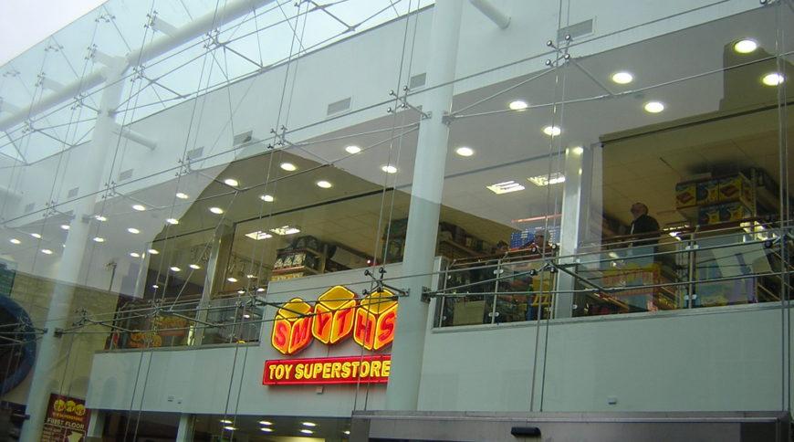 Smyths Toy Store Carey Glass